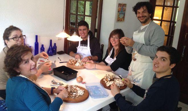 clase asturiana. Abril 2014