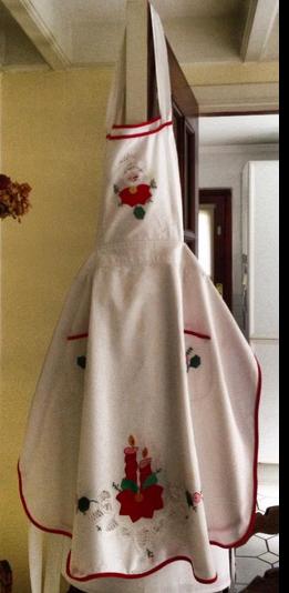 delantal navideño nov2013