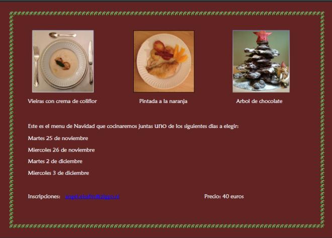 menu de naviada 2014